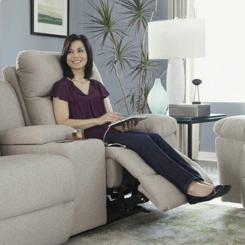 LEO COLL. Power Tilt Headrest/Lumbar Space Saver Reclining Sofa