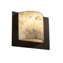Framed Square 3-Sided Wall Sconce (ADA)