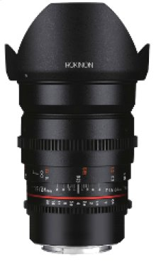 ROKINON DS 24mm T1.5 CINE LENS FOR MFT