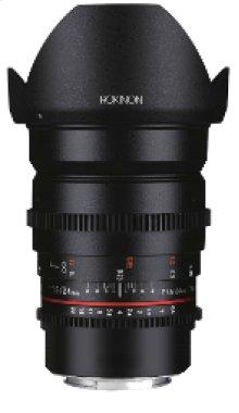 ROKINON DS 24mm T1.5 CINE LENS FOR MFT