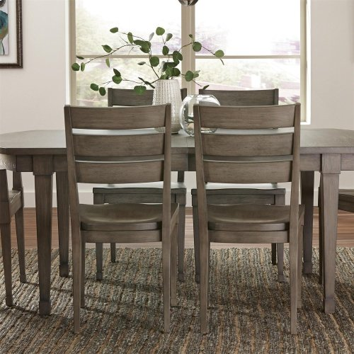 Vogue - Side Chair - Gray Wash Finish
