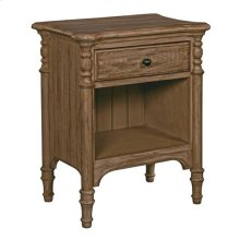 Weatherford Heather Open Nightstand