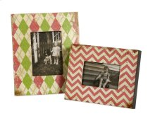 Lucille 4x6 and 5x7 Photo Frame - Set of 2