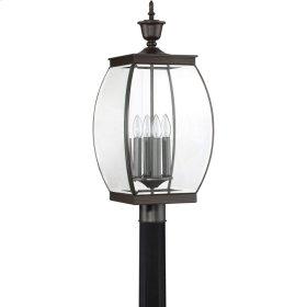 Oasis Outdoor Lantern in Medici Bronze