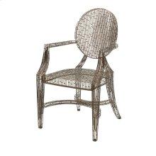 Wilkins Handcrafted Metal Arm Chair