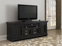 "74"" Console - Distressed Black Finish"