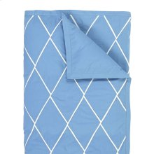 Calypso Duvet Cover & Shams, Capri Blue, King