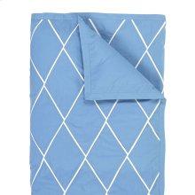 Calypso Duvet Cover & Shams, Capri Blue, King