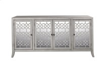 Charlotte 4 Door Credenza CLOUD GRAY