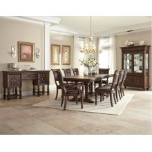 Palencia Dining Room Set: Table with 4 Side Chairs and 2 Arm Chairs