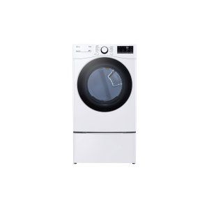 LG Appliances 7.4 cu. ft. Ultra Large Capacity Smart wi-fi Enabled Front Load Electric Dryer with Built-In Intelligence