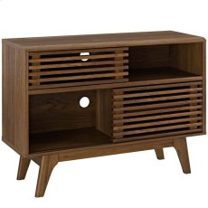 Render Display Stand in Walnut Product Image