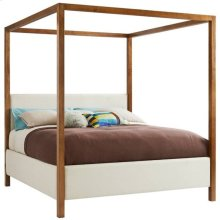 Panavista Archetype Canopy Bed - Queen in Goldenrod