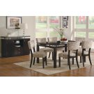 Libby Transitional Cappuccino Five-piece Dining Set Product Image