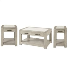 Chairside Table - Urban Gray Finish