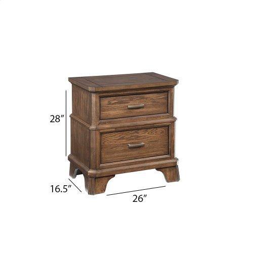 Bedroom - Telluride Two Drawer Nightstand