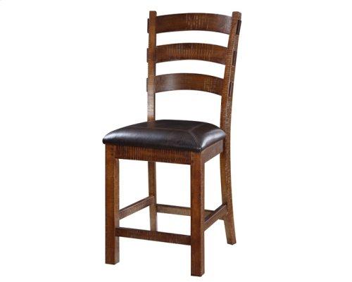 "Barstool Bonded Leather Seat 24"" Set Up 1 Per Carton"