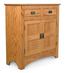 Prairie Mission 2-Drawer Cabinet