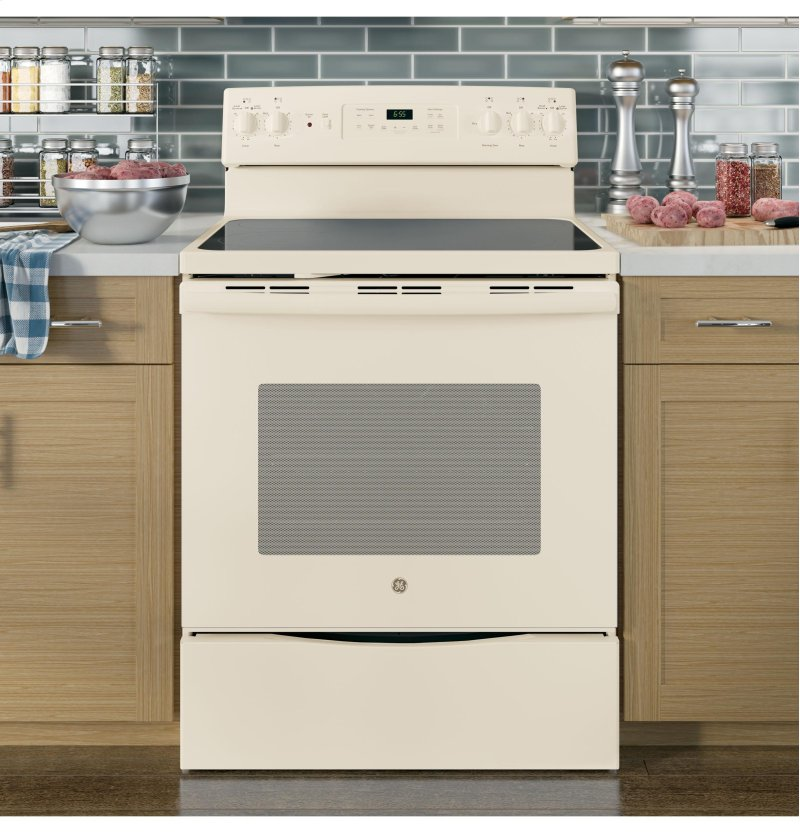 JB655DKCC in Bisque by GE Appliances in Corvallis, OR - GE