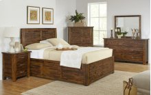 Sonoma Creek 4 Piece Queen Bedroom Set: Bed, Dresser, Mirror, Chest