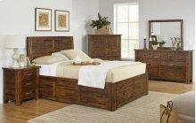 Sonoma Creek 4 Piece Queen Bedroom Set: Bed, Dresser, Mirror, Nightstand