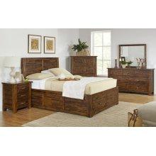 Sonoma Creek 4 Piece Queen Bedroom Set: Bed, Dresser, Mirror, Chest