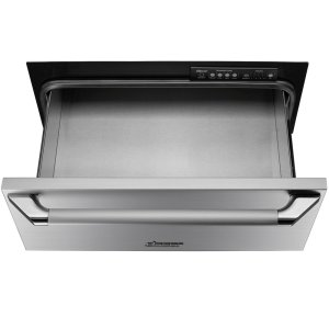 "DacorHeritage 30"" Epicure Warming Drawer, in Black Glass with Black Handle and End Caps"