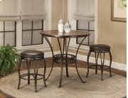 "Sunset Trading 3 Piece Victoria 36"" Round Pub Table Set - Sunset Trading Product Image"
