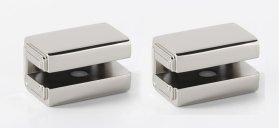 Cube Shelf Brackets A6550 - Polished Nickel