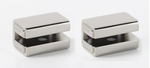 Cube Shelf Brackets A6550 - Polished Nickel