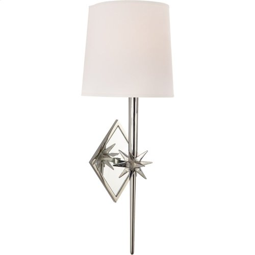 Visual Comfort S2320PN-NP Ian K. Fowler Etoile 1 Light 6 inch Polished Nickel Decorative Wall Light
