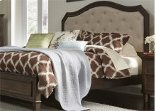 King Uph Headboard & Footboard - Linen