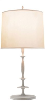 Visual Comfort BBL3003WHT-S Barbara Barry Lotus 33 inch 150 watt Plaster White Decorative Table Lamp Portable Light
