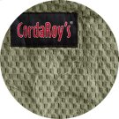 Cover for Pillow Pod or Footstool - Chenille - Moss Green Product Image