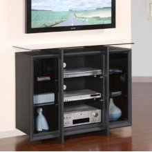 """""""Sandy Black"""" 42"""" TV Stand with Wall Bracket"""