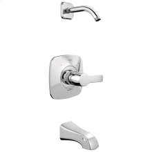 Chrome Monitor ® 14 Series Tub & Shower Trim - Less Head