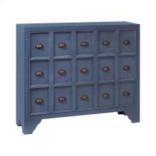 Shelby Apothecary-style Chest In Archipelago Blue