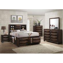1035 Anthem Queen Storage Bed with Dresser & Mirror