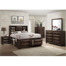 1035 Anthem King Bed Storage with Dresser & Mirror