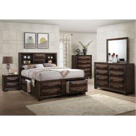 1035 Anthem King Bed Storage with Dresser & Mirror