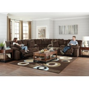 Power Lay Flat Recliner w/Extended Ottoman