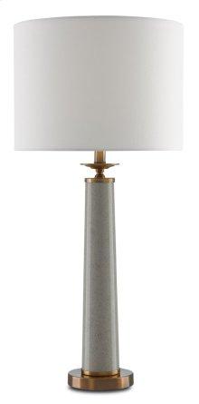 Rhyme Gray Table Lamp