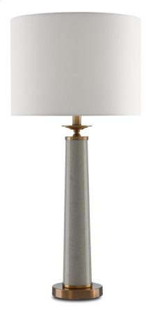 Rhyme Gray Table Lamp