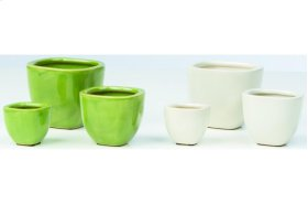 Tamani Fairy Garden Pots - 2 Sets of each