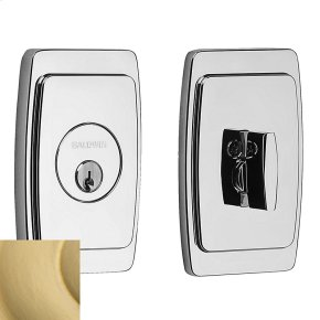 Satin Brass Palm Springs Deadbolt