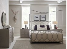 Metal Canopy Bed, King 6/6