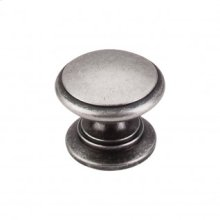 Ray Knob 1 1/4 Inch - Pewter Antique
