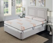 "Cool Jewel Sonata Cal King 6/0 Matt 10""gel- Memory Foam Product Image"