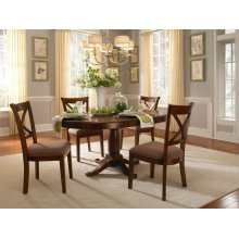 5 PIECE SET (TABLE AND 4 CHAIRS)