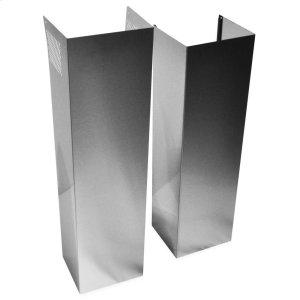 WhirlpoolWall Hood Chimney Extension Kit - Stainless Steel Stainless Steel